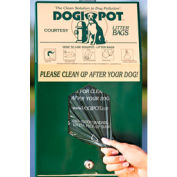 DOGIPOT® Header Pak Dog Waste Hanging Bag Dispenser With 400 Bags