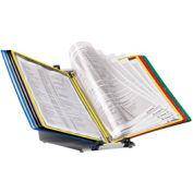 Tarifold® FoldFive Desktop Organizer Starter Set, 10 Assorted Color Pockets