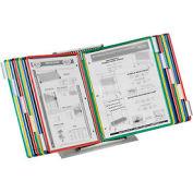 Tarifold® Desktop Organizer Starter Set, 20 Assorted Color Pockets