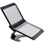 Tarifold® 3D Desk Stand, 10 Black Pockets
