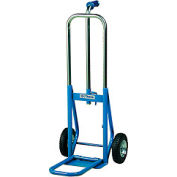 "Dutro 908N Salesman Folding Hand Truck 8"" Pneumatic Wheels 500 Lbs Capacity"