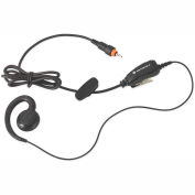 CLP Series Swivel  Earpiece with Inline Push To Talk Mic