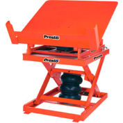 Presto Pneumatic Lift & Tilt Table AXT10-4848 48 x 48 1000 Lb. Capacity