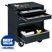 "Global™ Industrial 27"" 5-Drawer Roller Tool Cabinet W/ Ball Bearing Slides"