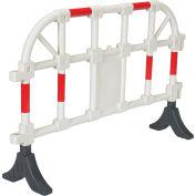 Plastic Handrail Barriers, White