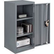 Paramount™ Wall Storage Cabinet Assembled 13-3/4x12-3/4x30 Gray