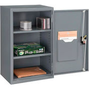 Paramount™ Wall Storage Cabinet Assembled 19-7/8x14-1/4x32-3/4 Gray