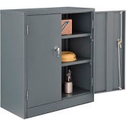 Paramount™ Counter Height Cabinet Easy Assembly 36x18x42 Gray