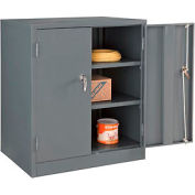 Paramount™ Counter Height Cabinet Easy Assembly 36x24x42 Gray