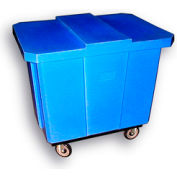 Bayhead Products Blue Poly Box Truck 10 Bushel Capacity