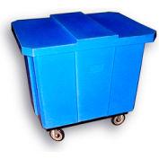 Bayhead Products Blue Poly Box Truck 14 Bushel Capacity
