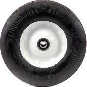 "Marathon 00411 10x2.75 Semi-Pneumatic Ribbed Tread, 2.3"" Centered, 5/8"" Bearings"