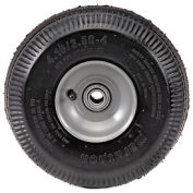 "Marathon 20011 4.10/3.50-4 Sawtooth Tread Pneumatic, 2.25"" Offset, 3/4"" Bearings"