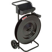 """Strapping Cart For Steel and Poly Strapping 16"""" x 3"""" and 16"""" x 6"""" Core"""