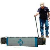 "Bluff® EZ-Pull Mechanical Edge of Dock Leveler 25EP78 78"" Usable W 25,000 Lb. Cap."
