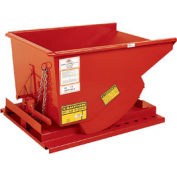 Modern Equipment MECO SDHX025 1/4 Cu. Yd. Orange Extra Heavy Duty Hopper