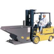 Modern Equipment MECO SDHX025 1/4 Cu. Yd. Gray Extra Heavy Duty Hopper