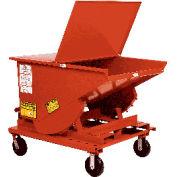 6 x 2 Steel Caster Kit for MECO Self Dumping Hoppers