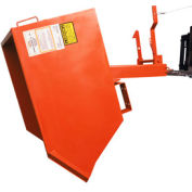 Modern Equipment MECO SDHH150-90 Series 90 1-1/2 Cu. Yd. Gray Heavy Duty Self-Dumping Hopper