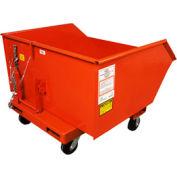 8 x 2 Steel Caster Kit for MECO 90 Series Self Dumping Hoppers