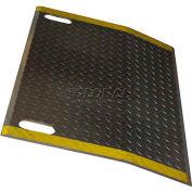B & P Aluminum Dock Plate E3648-HS 36x48 1900 Lb. Cap with Hand Slots