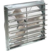 """Exhaust Ventilation Fan With Shutter 12"""" 3-Speed With Hardware"""