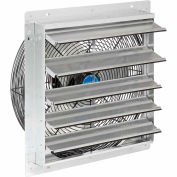 """Exhaust Ventilation Fan With Shutter 18"""" 3-Speed With Hardware"""