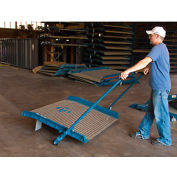 EZ-Roll Attachment for Bluff® Aluminum Dockboards with Steel Curbs