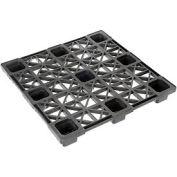 Nestable Plastic Pallet 45 X 45, 1700-3300 Lbs Cap