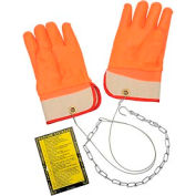 Ideal Warehouse Forklift Propane Cylinder Handling Gloves - 70-1020 On Hand Gloves