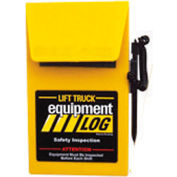 Replacement Log Book 70-1065-2 for IRONguard Electric Narrow Aisle Forklift Log