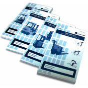 Replacement Checklist 70-1079 for IRONguard Aerial Work Platform Checklist Caddy