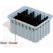 Akro-Mils Short Divider 41223 For Akro-Grids Dividable Grid Containers 33223 Pack of 6
