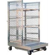 """New Age Order Picking Platform (2) 30""""D Shelves - Toyota Forklifts"""
