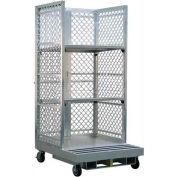 """New Age Order Picking Platform (2) 32""""D Shelves - Crown & Clark Forklifts"""