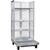 """New Age Order Picking Platform (3) 24""""D Shelves - Crown & Clark Forklifts"""