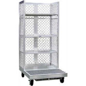 "New Age Order Picking Platform (3) 24""D Shelves - Raymond Forklifts"
