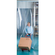 """Aleco® Visi-Guard Strip Door 455991 4' x 7' with 8"""" Strips"""