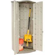 "Rubbermaid Vertical Storage Shed FG374901OLVSS, 2'6""W X 2'1""D X 6'H"