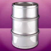 Skolnik SL5501DF Closed Head Stainless Steel Seamless 55 Gallon Drum