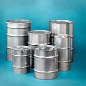 Skolnik ST5503 Closed Head Stainless Steel 55 Gallon Drum