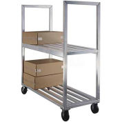 New Age 1151 Aluminum Box Truck 63 x 27 x 71 2 Shelves