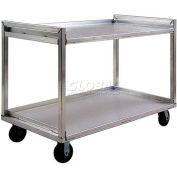 New Age 97180 Extreme Duty Aluminum Correctional Cart 54 x 29 2000 Lb. Cap