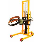 "Vestil Portable Drum Lifter-Positioner DRUM-LRT-EC 53"" Lift-Rotate Clamp Cradle"