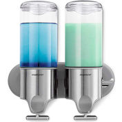 simplehuman® Twin Wall Mount Soap Pump BT1028