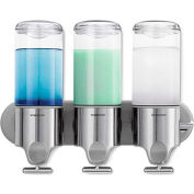 simplehuman® Triple Wall Mount Soap Pumps BT1029