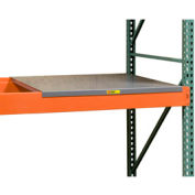 "Pallet Rack - Solid Steel Deck 58"" W X 36"" D"