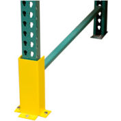 "Pallet Rack - Post Protector 3-Sided, 3-Mount 17"" H"