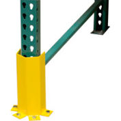 """Pallet Rack - Post Protector 3-Sided, 4-Mount 12"""" H"""