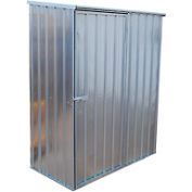 "Outdoor Utility Steel Storage Shed 59""W x 32""D x 75""H"